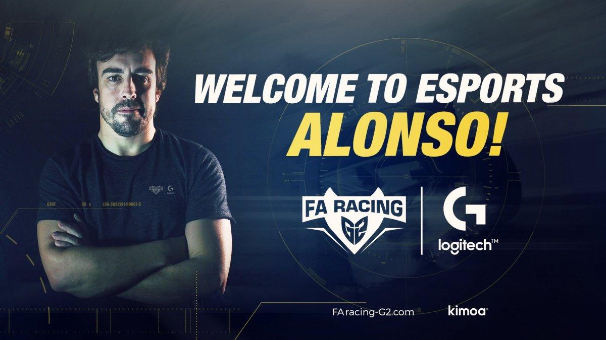 Un gran paso para el Simracing: FA Racing-G2, el equipo virtual de Fernando Alonso.